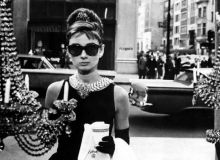 Scenă din filmul Mic dejun la Tiffany(1961)