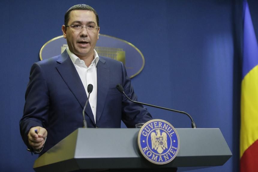 Ponta: Premierul trebuie să convoace ședință de guvern dacă sunt lucruri urgente