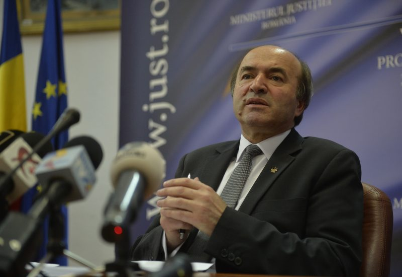 Toader: Proiectul de lege pentru modificarea legilor justiţiei are ca termen de finalizare iunie 201