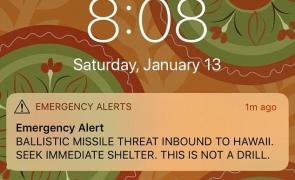 S-a aflat! Cine a declanșat alerta antirachetă în Hawaii